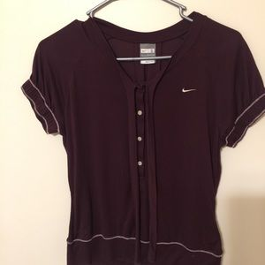 Nike Small Maroon Shirt